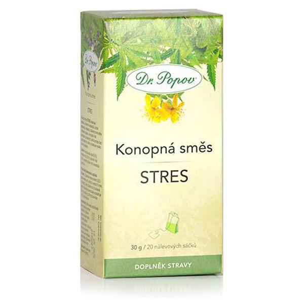 Obrázek Konopná směs STRES, 30 g DR. POPOV
