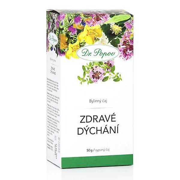Obrázek Zdravé dýchání, sypaný čaj, 50 g DR. POPOV