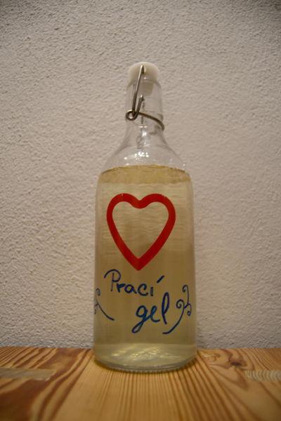 Obrázek Prací gel na barevné prádlo s mýdlovým práškem 100 g BEZOBAL SOAPHORIA