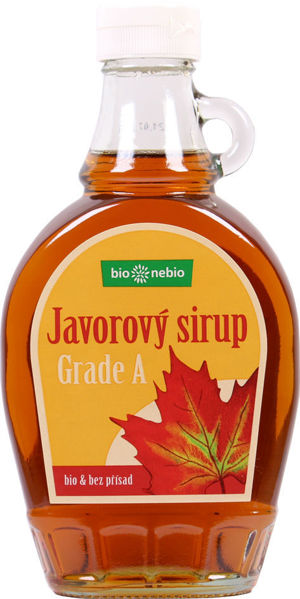 Obrázek Javorový sirup - Grade A 250 ml BIONEBIO