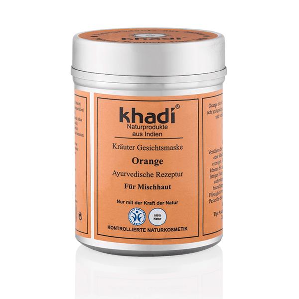 Obrázek Bylinná pleťová maska Pomeranč 50 g Khadi