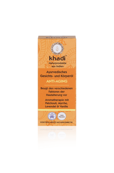 Obrázek Pleťový a tělový olej Anti-Aging 100 ml Khadi