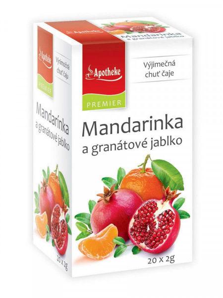 Obrázek Mandarinka a granátové jablko čaj 20 x 2 g APOTHEKE
