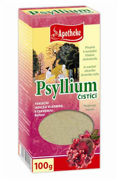 Obrázek Psyllium čisticí s červenou řepou 100 g APOTHEKE