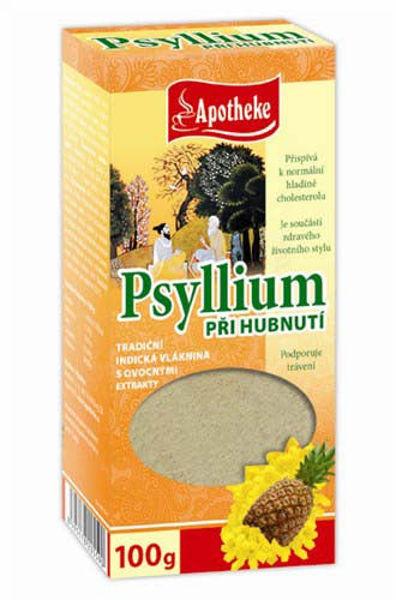 Obrázek Psyllium při hubnutí s ananasem 100 g APOTHEKE