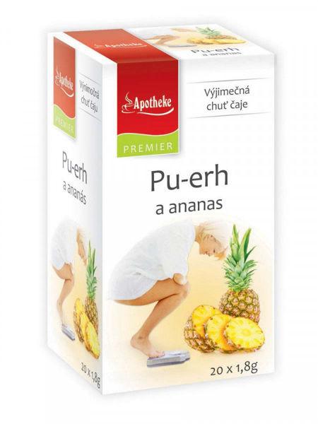 Obrázek Pu-erh a ananas čaj 20 x 1,8g APOTHEKE