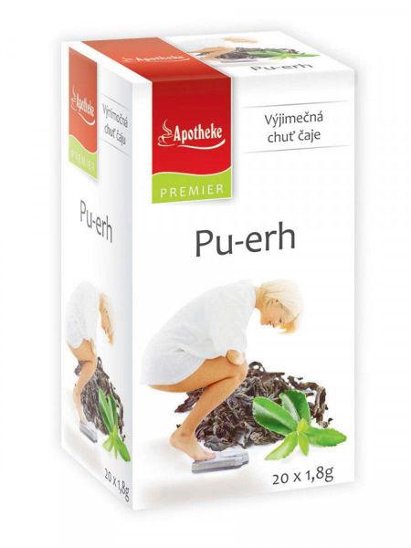 Obrázek Pu-erh čaj 20 x 1,8g APOTHEKE
