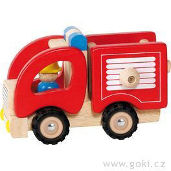 Obrázek Autíčko - hasiči Goki
