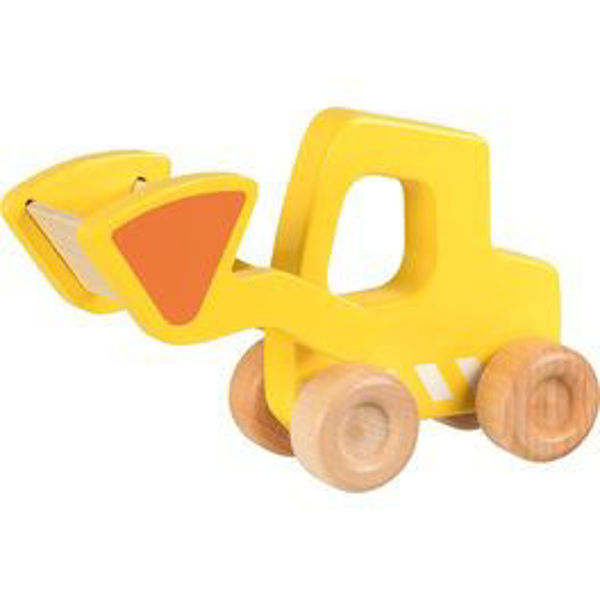 Obrázek Bagr - dřevěné autíčko Goki