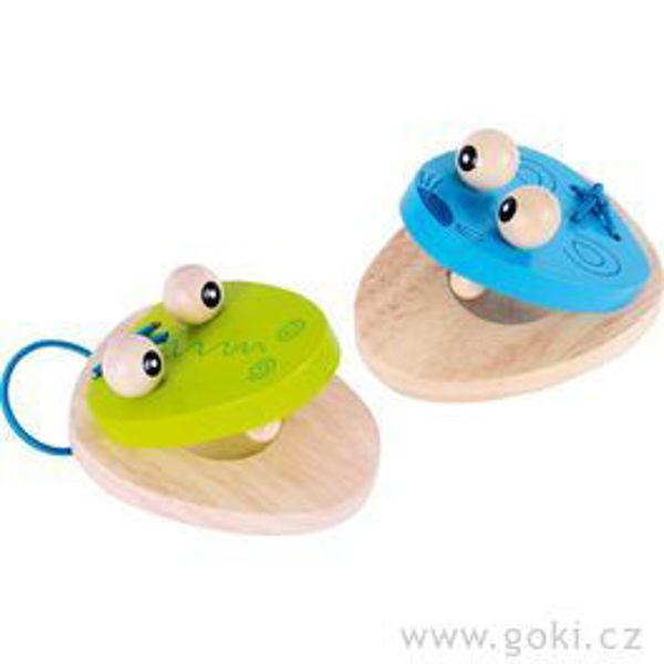 Obrázek Kastaněty - myška a krokodýl GOKI