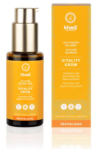 Obrázek Vlasový olej Vitalita růst 50 ml Khadi