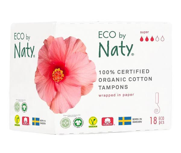 Obrázek Dámské ECO tampóny super Eco by Naty
