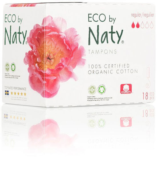 Obrázek Dámské ECO tampóny regular Eco by Naty