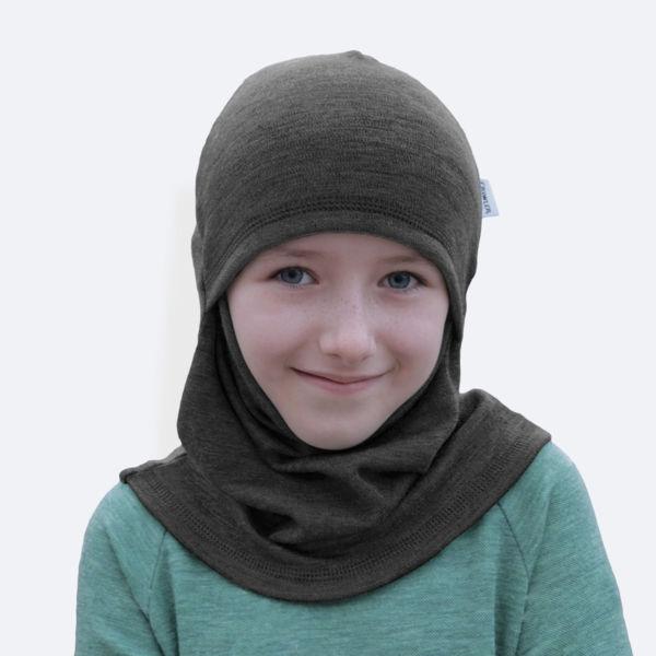 Obrázek Merino kukla ninja jednobarevná Crawler