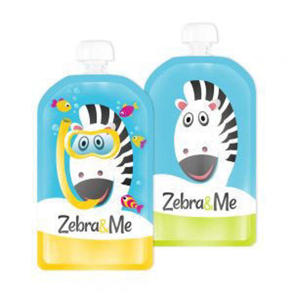 Obrázek Kapsička na dětskou stravu Potápěč Zebra & Me