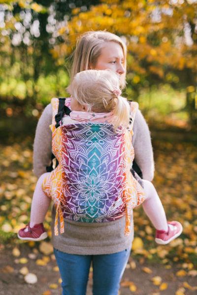 Obrázek Nosítko Be Lenka Toddler Mandala - Night BeLenka