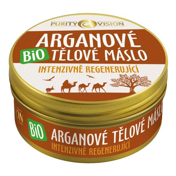 Obrázek Bio Arganové tělové máslo 150 ml PURITY VISION