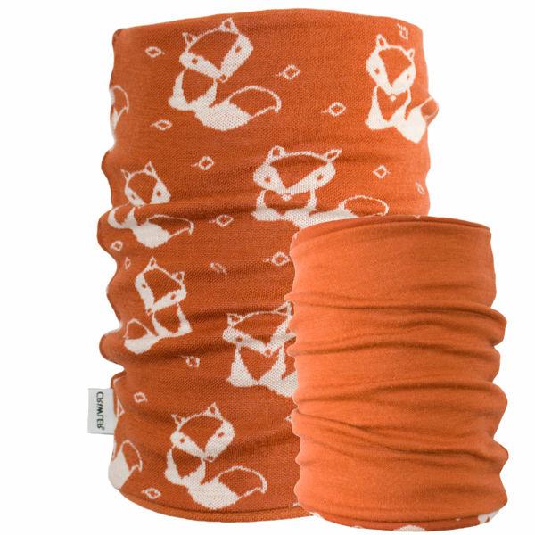 Obrázek Merino tubus 2vrstvý dětský se vzorem Crawler