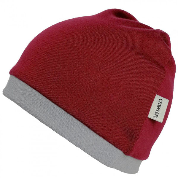 Obrázek Merino čepice 2vrstvá jednobarevná Crawler