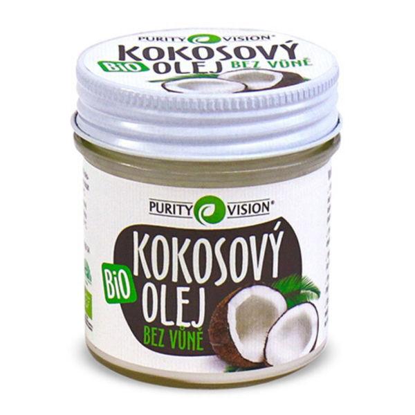 Obrázek Kokosový olej bez vůně bio PURITY VISION