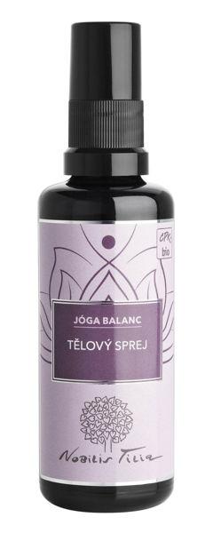 Obrázek Tělový sprej Jóga balanc 50 ml Nobilis
