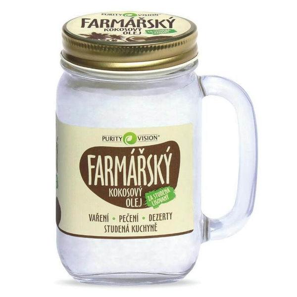 Obrázek Kokosový olej farmářský 400 ml PURITY VISION