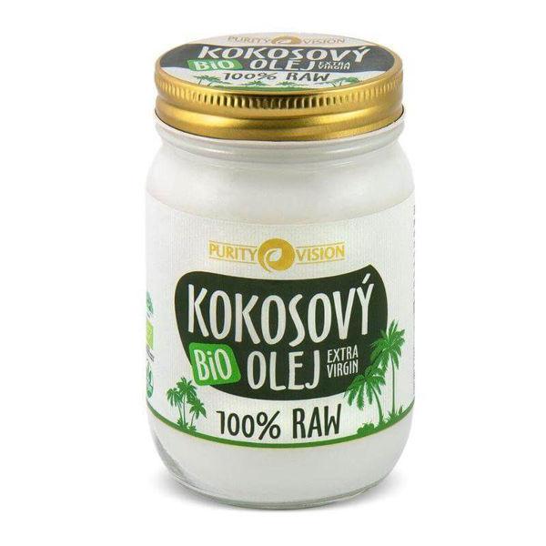 Obrázek Raw Kokosový olej bio PURITY VISION