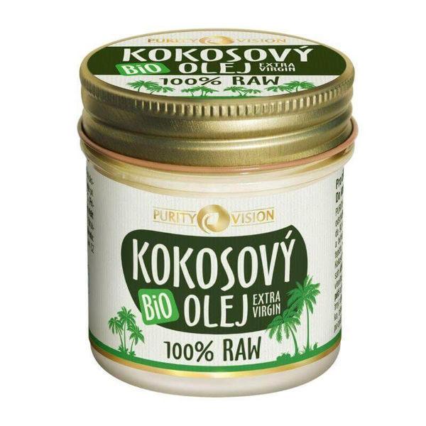 Obrázek Raw Kokosový olej bio 120 ml PURITY VISION