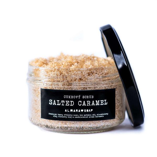 Obrázek SCRUB SALTED CARAMEL 140 g ALMARA SOAP