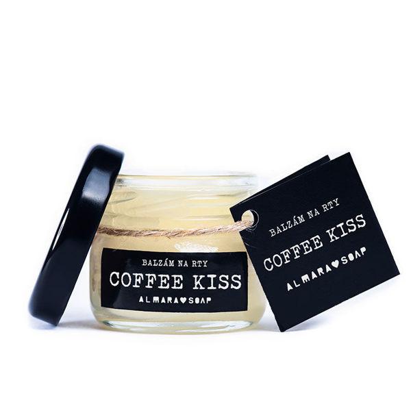 Obrázek BALZÁM NA RTY COFFEE KISS 24 ml ALMARA SOAP