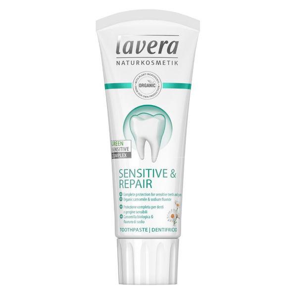 Obrázek Zubní pasta - Sensitive & Repair 75 ml (LAVERA)