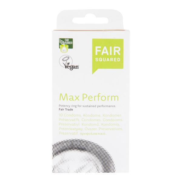 Obrázek Kondom Max Perform 10 ks FAIR SQUARED