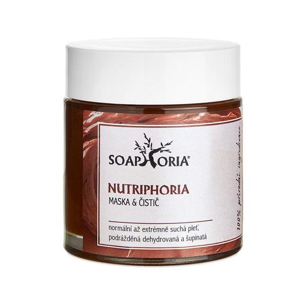 Obrázek Nutriphoria pleťová maska a čistič 100 ml SOAPHORIA