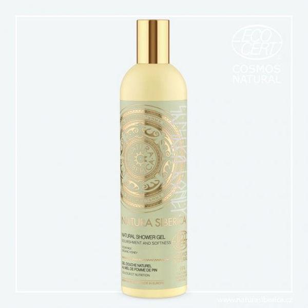 Obrázek Sprchový gel Něha a výživa 400 ml NATURA SIBERICA