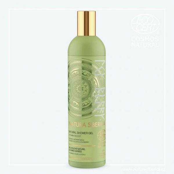 Obrázek Sprchový gel  Vitaminový náboj 400 ml NATURA SIBERICA