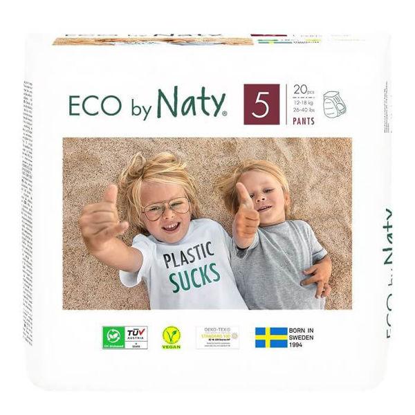 Obrázek Natahovací plenkové kalhotky Junior 12 - 18 kg Eco by Naty