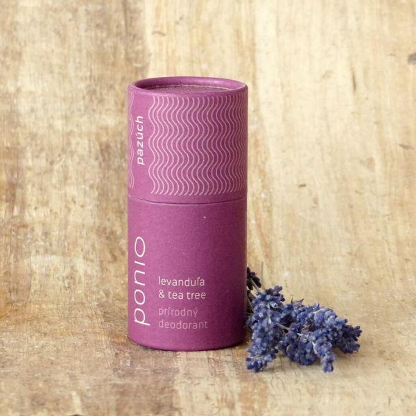 Obrázek Deodorant Levandule a Tea tree 60 g PONIO