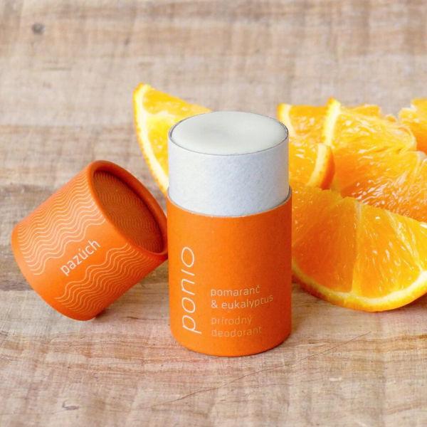Obrázek Deodorant Pomeranč a Eukalyptus 60 g PONIO
