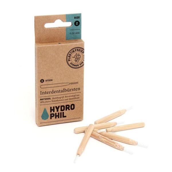 Obrázek Bambusový mezizubní kartáček (6 ks) - 0,50 mm Hydrophil