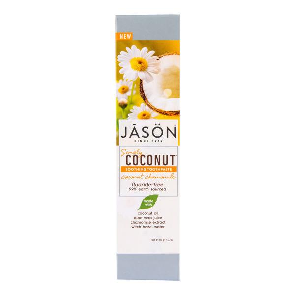 Obrázek Zubní pasta zklidňující Simply coconut 119 g JASON
