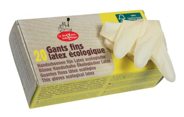 Obrázek Jednorázové rukavice 20 kusů La Droguerie Ecologique