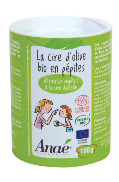 Obrázek Organický olivový vosk nugety 100 g Anae