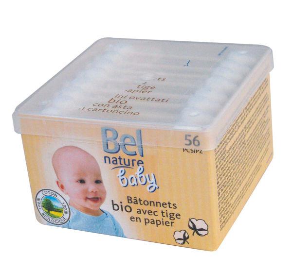 Obrázek Vatové tampónky do uší dětské Bel Nature Baby