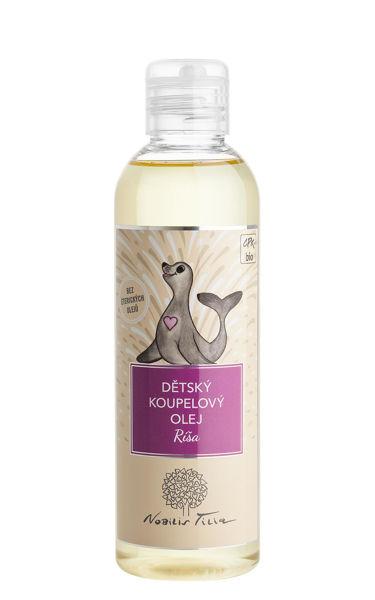 Obrázek Dětský koupelový olej Ríša 200 ml Nobilis