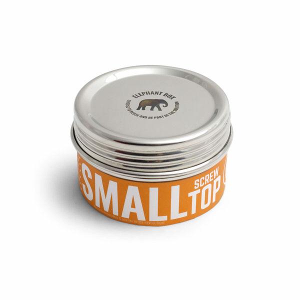 Obrázek Nerezový box se šroubovacím víčkem 300 ml Elephant Box