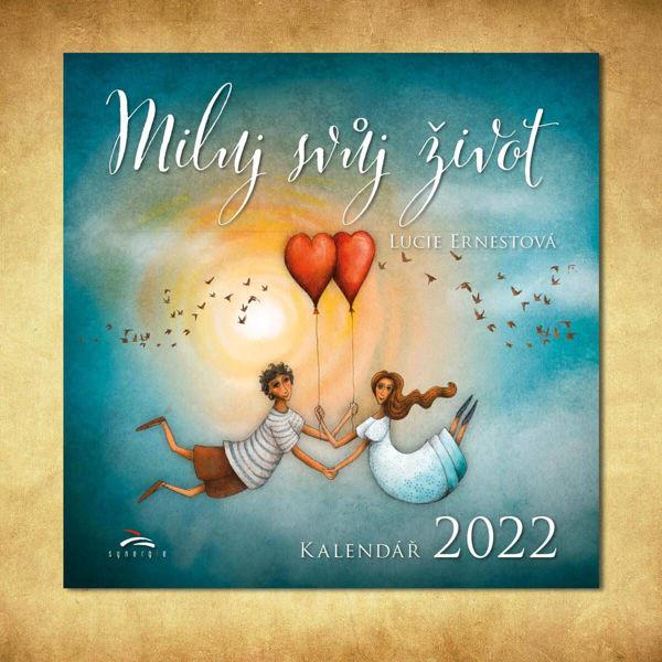 Obrázek Kalendář Miluj svůj život 2022 Lucie Ernestová